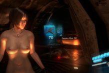 Ada Wong Resident Evil peladinha na batalha
