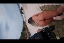 Mulher Melão xxx de quatro na praia