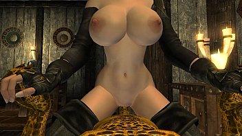 Rainha safadinha encontra um ser que vai dar prazer pra ela